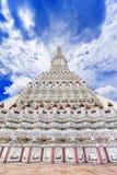 Wat Arun The Temple av Dawn Landmark av Bangkok, Thailand fotografering för bildbyråer