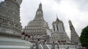 Wat Arun temple in Bangkok stock footage