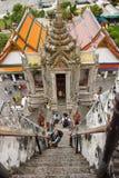 Wat Arun temple in Bangkok Stock Photos