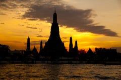 Wat Arun Temple in Bangkok Thailand Stockbild