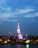 Wat Arun Temple in bangkok Stock Photos