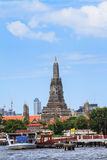 Wat Arun temple in Bangkok Royalty Free Stock Photo