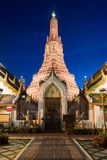 Wat Arun Temple at Bangkok in Thailand Stock Images
