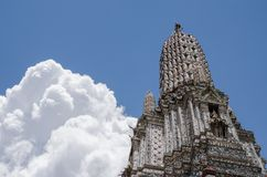 Wat Arun The Temple of Bangkok in Thailand. Royalty Free Stock Photo