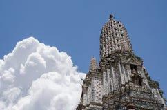 Wat Arun The Temple of Bangkok in Thailand. Royalty Free Stock Photo