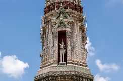 Wat Arun The Temple of Bangkok in Thailand. Royalty Free Stock Photography