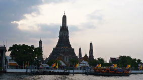 Wat Arun temple in Bangkok, Thailand Royalty Free Stock Photography