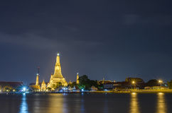 Wat arun temple bangkok thailand Royalty Free Stock Photos