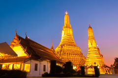 Wat Arun Temple in Bangkok, Thailand. Royalty Free Stock Photography