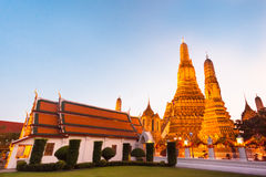 Wat Arun Temple in Bangkok, Thailand. Stock Photography