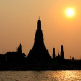 Wat Arun temple in Bangkok,Thailand Royalty Free Stock Image