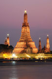 Wat Arun temple in Bangkok,Thailand Royalty Free Stock Photos