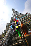 Wat Arun temple in Bangkok, Thailand Royalty Free Stock Photos