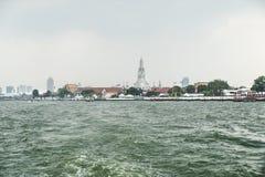 Wat Arun Temple in Bangkok Royalty Free Stock Photography