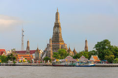 Wat arun temple Stock Image