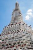 Wat Arun Temple of Dawn в Бангкоке, Таиланде Стоковое Изображение RF