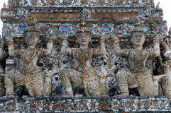 Wat arun - the temple of the dawn Royalty Free Stock Photo