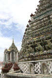 Wat arun temple of the dawn bangkok thailand Stock Photography
