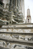 Wat arun temple of the dawn bangkok thailand Royalty Free Stock Image