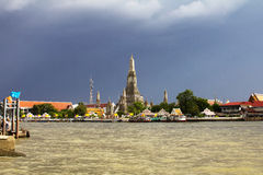 Wat Arun, the Temple of Dawn Stock Photos