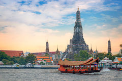 Wat Arun - the Temple of Dawn in Bangkok Royalty Free Stock Photo