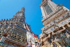 Wat Arun - the Temple of Dawn in Bangkok Royalty Free Stock Photos