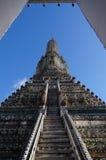 Wat Arun. The Temple of Dawn and a beatiful sunshine,Bangkok,Thailand Stock Image