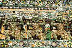 Wat Arun. Temple of Dawn the landmark of Thailand Stock Photos