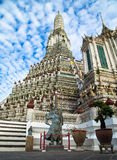 Wat Arun. Temple of Dawn the landmark of Thailand Royalty Free Stock Photo