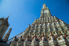 Wat Arun. Temple of Dawn the landmark of Thailand Royalty Free Stock Photography