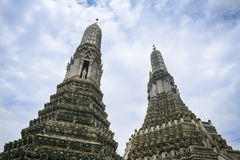 Wat arun temple of the dawn bangkok  thailand Stock Images
