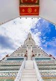 Wat Arun The Temple de Dawn Landmark de Bangkok, Tailandia Imagen de archivo libre de regalías