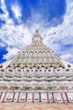 Wat Arun The Temple de Dawn Landmark de Bangkok, Thaïlande image stock