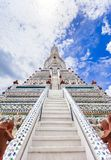 Wat Arun The Temple de Dawn Landmark de Bangkok, Thaïlande photo libre de droits