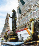 Wat Arun Temple Detail Royalty Free Stock Photography
