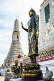 Wat Arun Temple Detail Royalty Free Stock Photo
