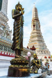 Wat Arun Temple Detail Stock Images