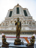 Wat Arun Temple Detail Royalty Free Stock Images