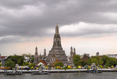 Wat Arun temple at dusk Royalty Free Stock Image