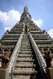 Wat Arun Temple em Banguecoque Tailândia Fotografia de Stock