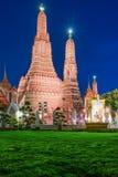 Wat Arun Temple en Bangkok en Tailandia Fotos de archivo