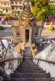 Wat Arun temple stairway Royalty Free Stock Images