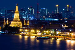 Wat arun temple Stock Image