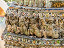 Wat Arun Temple or Temple of Dawn, Bangkok, Thailand Stock Photography