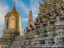 Wat Arun Temple or Temple of Dawn, Bangkok, Thailand Royalty Free Stock Image