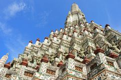 Wat arun temple, Thailand Royalty Free Stock Photography