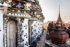 Wat Arun temple view Royalty Free Stock Photography