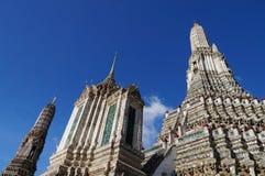 Wat Arun (templet av gryning) Fotografering för Bildbyråer