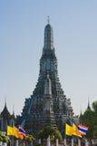 Wat Arun - templet av gryning, Bangkok Fotografering för Bildbyråer