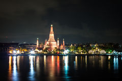 Wat Arun Thai Temple in Bangkok Royalty Free Stock Photos